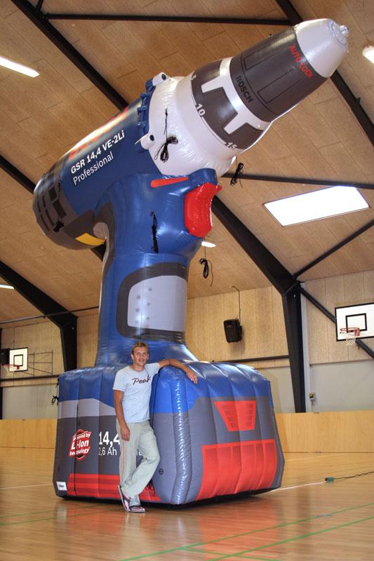 Bosch oppustelig kæmpe ballon