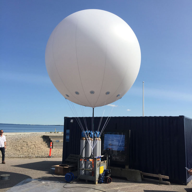 Stor heliumballon