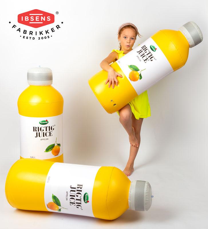 Oppustelig flaske